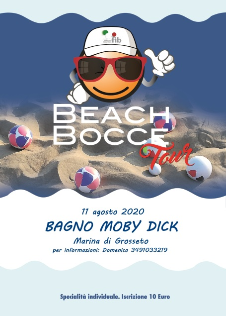Beach Bocce 2020 Moby Dick 11 08 20