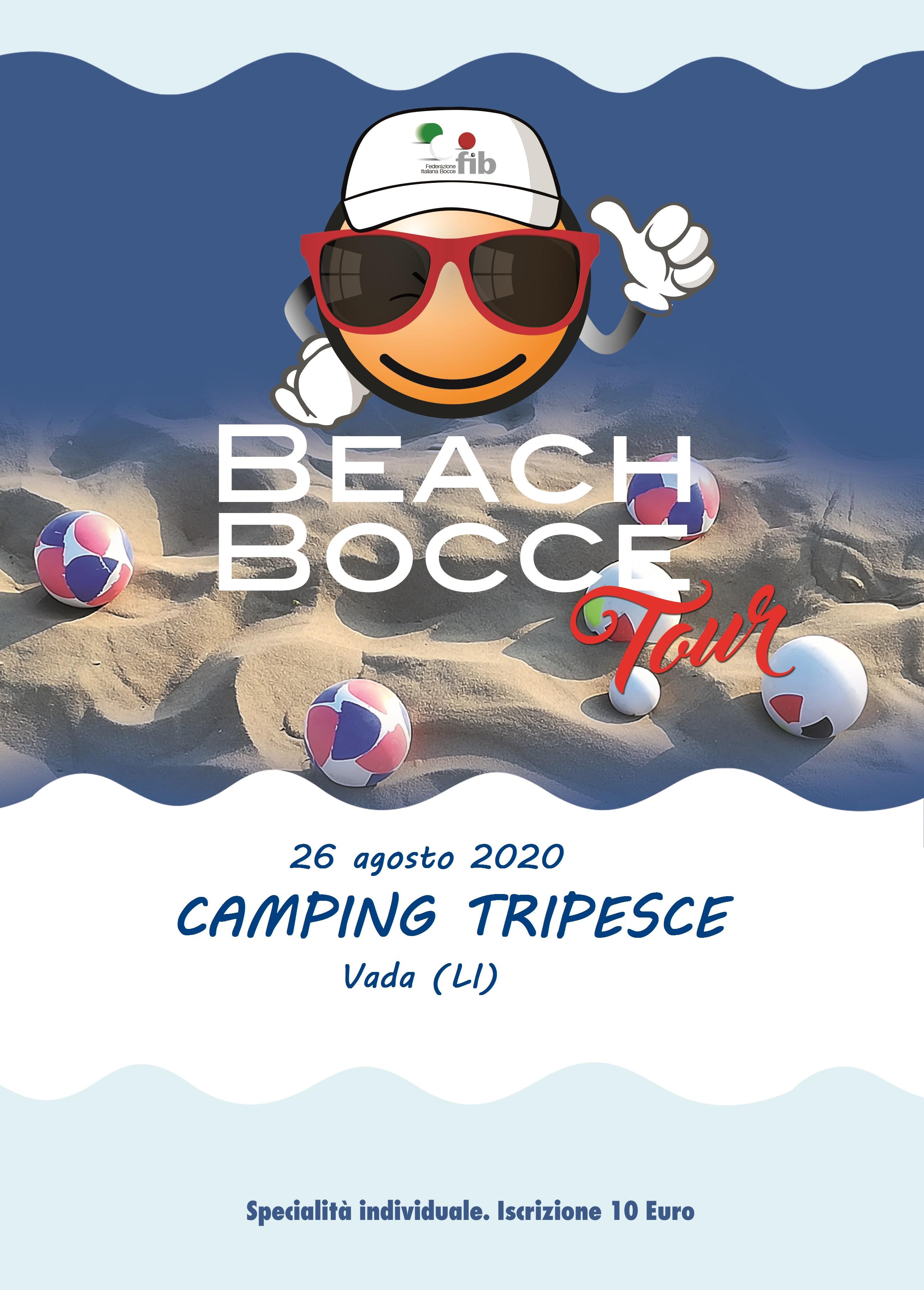 Beach Bocce 2020 Tripesce 26 08 20