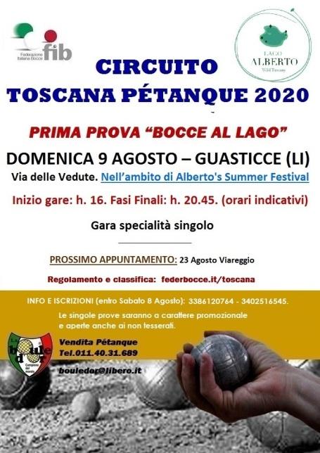 Circuito Petanque 2020 - Tappa 1 - 09 08 20 Guasticce